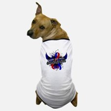 Congenital Heart Disease Awareness 16 Dog T-Shirt
