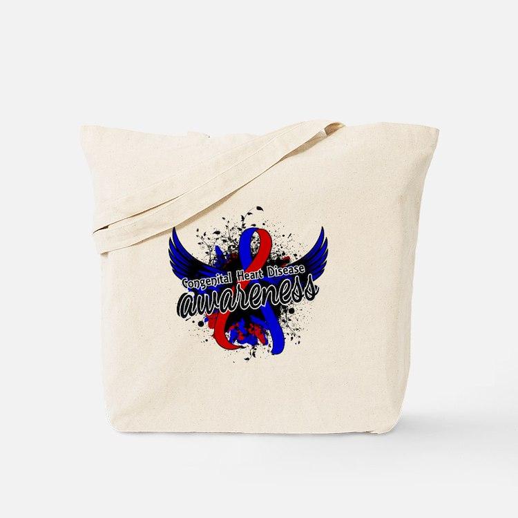 Congenital Heart Disease Awareness 16 Tote Bag