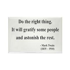 Mark Twain 4 Rectangle Magnet (100 pack)