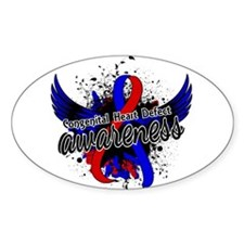 Congenital Heart Defect Aware Decal