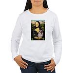 Mona's 2 Pugs Women's Long Sleeve T-Shirt