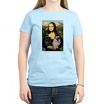Mona's 2 Pugs Women's Light T-Shirt