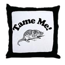 Tame Me Throw Pillow