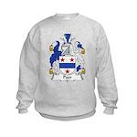 Poor Family Crest Kids Sweatshirt