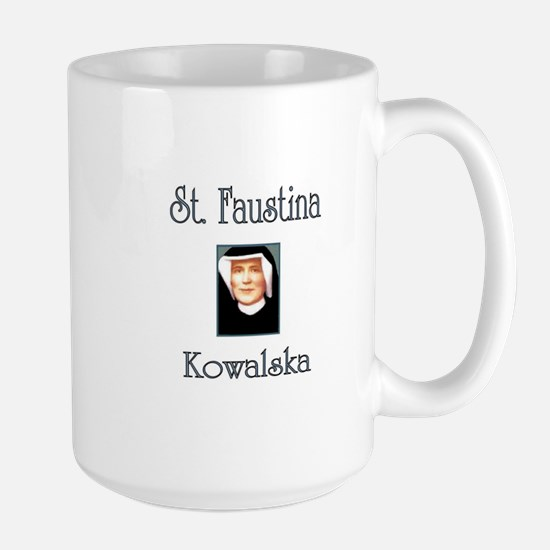 St. Faustina Kowalska Large Mug