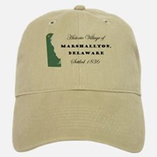 Historic Village of Marshallton Delaware Baseball Baseball Cap