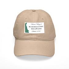 Historic Village of Marshallton Delaware Baseball Cap