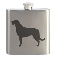 Irish Wolfhound Flask