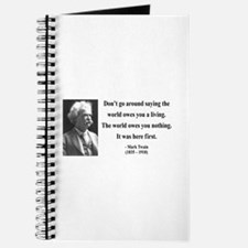 Mark Twain 5 Journal