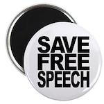 Save Free Speech Magnet