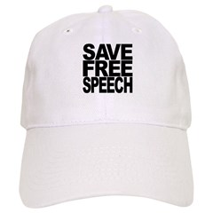 Save Free Speech Baseball Cap