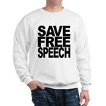 Save Free Speech Sweatshirt