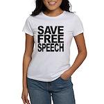 Save Free Speech Women's T-Shirt
