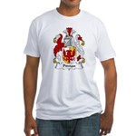 Pitman Family Crest   Fitted T-Shirt