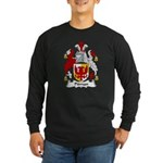 Pitman Family Crest Long Sleeve Dark T-Shirt