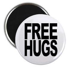 "Free Hugs 2.25"" Magnet (100 pack)"