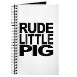 Rude Little Pig Journal