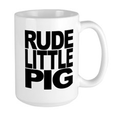 Rude Little Pig Mug