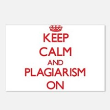 Keep Calm and Plagiarism Postcards (Package of 8)