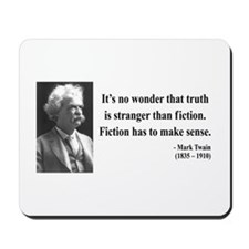 Mark Twain 6 Mousepad