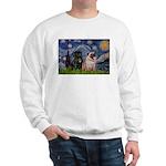 Starry Night / 2 Pugs Sweatshirt