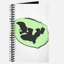Baby Silhouette Lime Green Journal