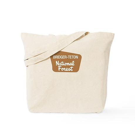 Bridger-Teton National Forest (Sign) Tote Bag