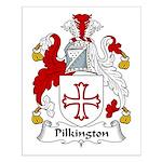 Pilkington Family Crest Small Poster