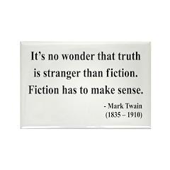 Mark Twain 6 Rectangle Magnet (100 pack)