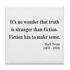 Mark Twain 6 Tile Coaster
