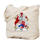 Pike Family Crest Tote Bag