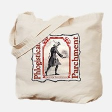 Phlogisticated Parchment Gear Tote Bag