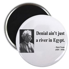 Mark Twain 7 Magnet