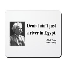 Mark Twain 7 Mousepad