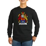Pierson Family Crest Long Sleeve Dark T-Shirt