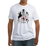 Pierpont Family Crest Fitted T-Shirt