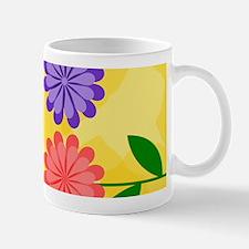 Cool Modern daisies Mug