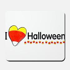 I heart halloween Mousepad