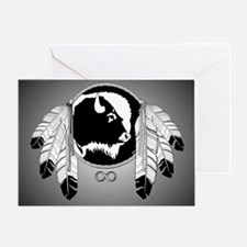 First Nations Native Art Greeting Card