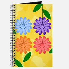 Cute Modern daisies Journal