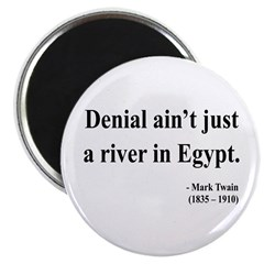 "Mark Twain 7 2.25"" Magnet (10 pack)"