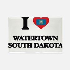 I love Watertown South Dakota Magnets