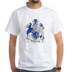 Pickering Family Crest White T-Shirt