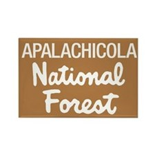 Apalachicola National Forest Rectangle Magnet