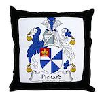 Pickard Family Crest Throw Pillow