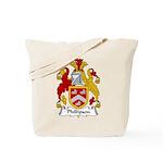 Phillipson Family Crest Tote Bag