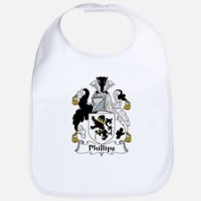 Phillips Family Crest Bib