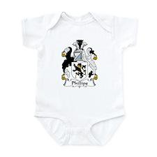 Phillips Family Crest Infant Bodysuit
