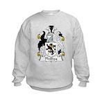 Phillips Family Crest Kids Sweatshirt
