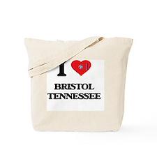I love Bristol Tennessee Tote Bag
